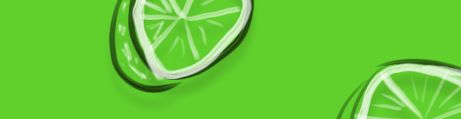 Magnet Board Glass Lime Green