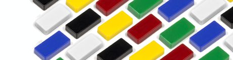Rectangle magnets 12x24mm